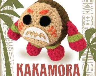 Moana KAKAMORA Crochet PATTERN ONLY