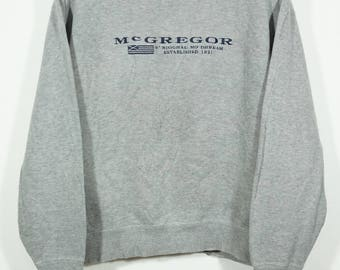 Vintage Mcgregor Sweater Sweatshirt Size Large L / Mcgregor Sweater / Mcgregor Sweatshirt