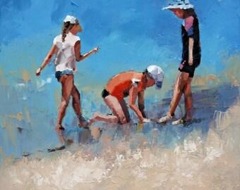 Original Painting For Sale, 'Summer Days VI'.