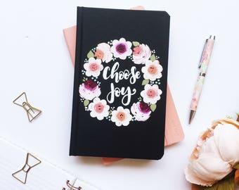 Choose Joy Notebook, Choose Joy, Floral Notebooks, Cute Journals, Gift for Her