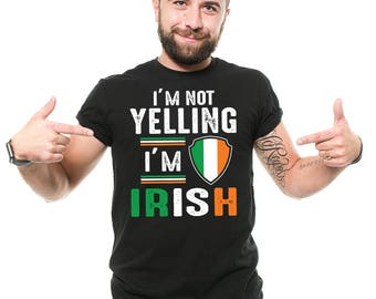 Ireland T-Shirt Gift For Irish Funny St Patrick's Day Gift Patriotic Tee Shirt
