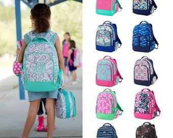 Kids Monogrammed Backpack, Monogrammed Backpack, School Bag, Back to School