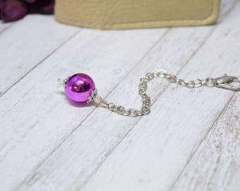 Chunky Charm Extender, Purple Charm Extender, Chunky Planner Charm, Purple Charm, Planner Charm Bracelet, Purse Charm, TN, Charm Extender