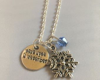 Once Upon a December large snowflake — Anastasia broadway — Anastasia musical — jewelry Theater lover gift