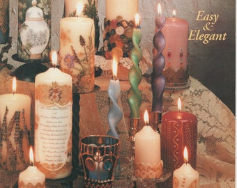 Creative Candles, Christmas candles, Wedding decor, tapers, decorated candles, scented candles, candle holders
