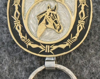 IN STOCK - UNLESS Personalized Key Chain  -  This is the  perfect gift for the horseman you know!