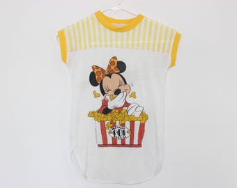 Minnie Mouse Sleeveless Shirt Small S