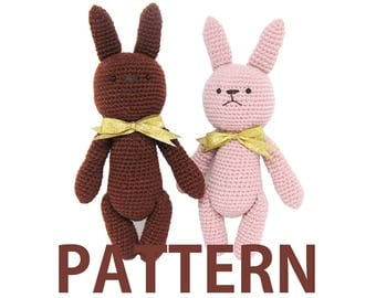Amigurumi Crochet Pattern-Rabbit
