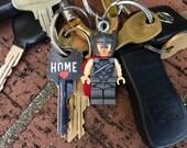Marvel Avengers Mighty Thor Ragnarok Mini-Figure Key Chain With Custom Gift Box