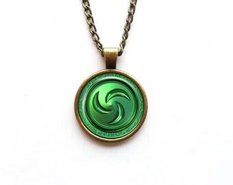 Necklace The Legend of Zelda: Ocarina of Time Forest Medallion