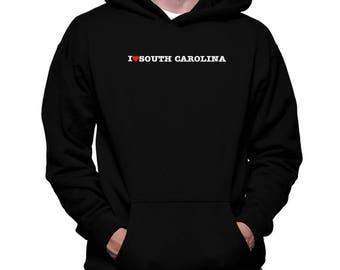 I Love South Carolina Hoodie