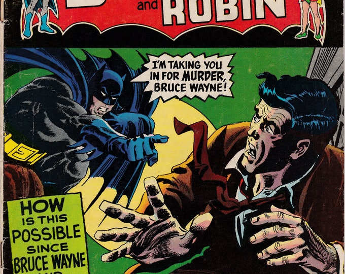 Featured listing image: Detective Comics #386  (1937 1st Series)  -April 1969 -  DC Comics - Grade G/VG