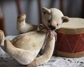 "NEW!!! PDF Pattern ""Kid bear"" 6.69 inches  (17 cm). Artist Pattern-Pdf-stuffed animals-soft toy-Rabbit pattern-pattern rabbit"