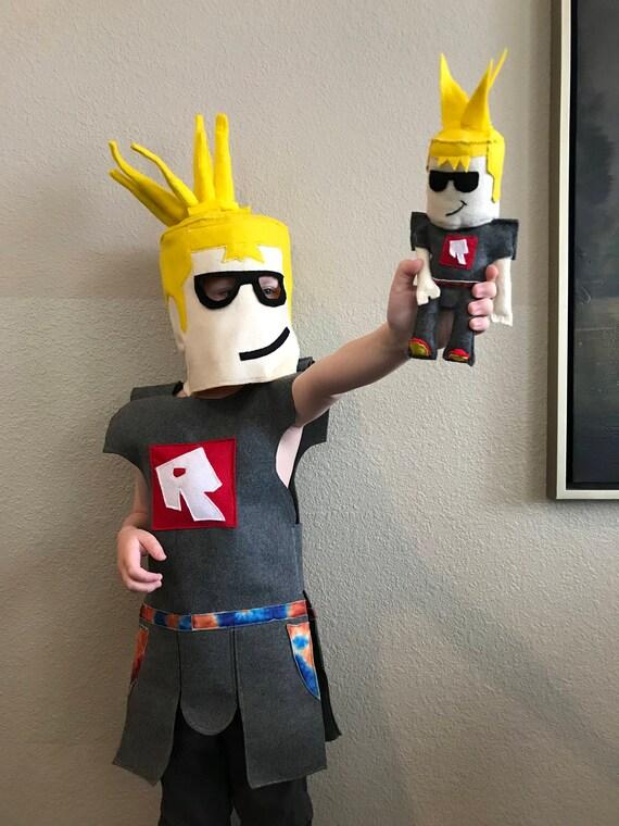 custom roblox mini plush toy