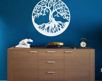 Tree Of Life Wall Decal Tree Of Life Wall Sticker Tree Of Life Decal Tree Of