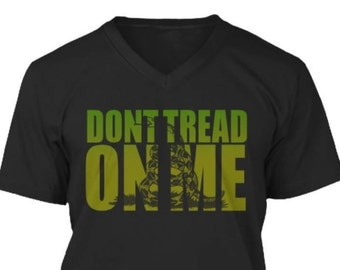 Dont Tread on Me V Neck