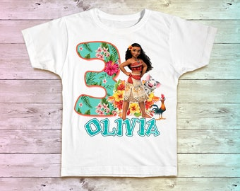 Moana Birthday Shirt, Moana Maui Family Birthday Tshirt, Matching Shirts, Moana Mommy Birthday Party Shirt , Moana Daddy Birthday Shirt