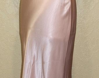 Blush satin charmeuse NEW w/Tags Vintage JESSICA McCLINTOCK dress Wedding dress Gown wedding dress