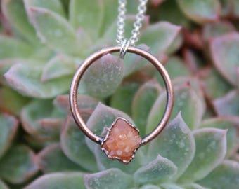 Amor Eterno Pendant | Pecos Diamond | Pecos Pendant | Copper Necklace | Pecos | Eternal Love Pendant | Ready-To-Ship