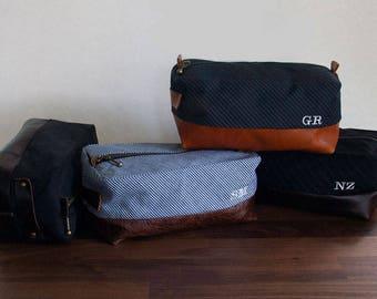 Personalized Groomsmen Gift/Dopp Bag/Dopp Kit/Shaving Kit/Mens Toiletry Bag/Gifts For Men/Travel Case/Travel Kit/Retirement Gift