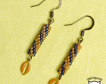 SQUIZ (Miyuki beads) earrings