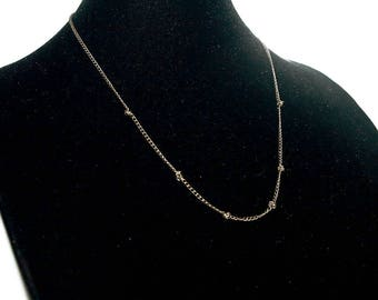 Knotted Chain Necklace