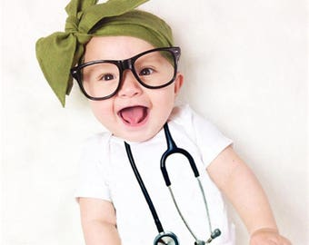 Stethoscope Baby Bodysuit, Unique Baby Gifts, Baby Onesie, Baby Clothes, Baby Boy Girl, Doctor Nurse Onesies, Nurse Baby Gifts, Baby Doctor