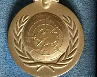 1950s United Nations Service Medal for Korea (UNKM) in Original Box