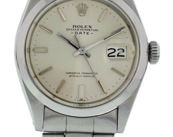 Rolex Oyster Perpetual Date 1500 w/ Papers