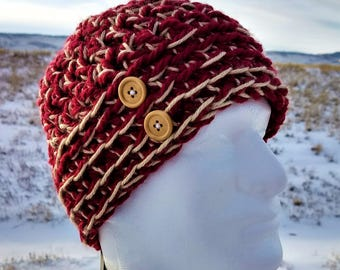 Extra Warm Crochet Adult Beenie