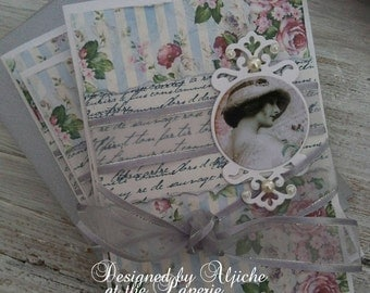 Note Cards, Notelets, Mother's Day, Birthday, Gifts, Handmade
