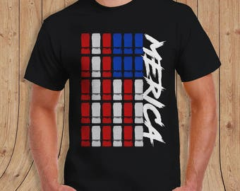 JEEP MERICA JEEP Shirt - t-Shirt Mens Ladies Womens Youth Kids