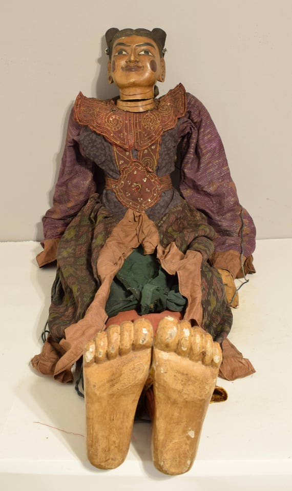 Asian Puppets Life Size Female Marionettes Wood Dolls Festivals Performances Life Size Puppets
