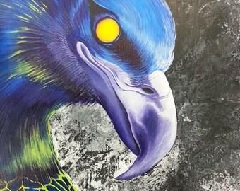 "Canvas Print of ""Storm Spirit"" by Oklahoma Cherokee Artist Bryan Waytula"