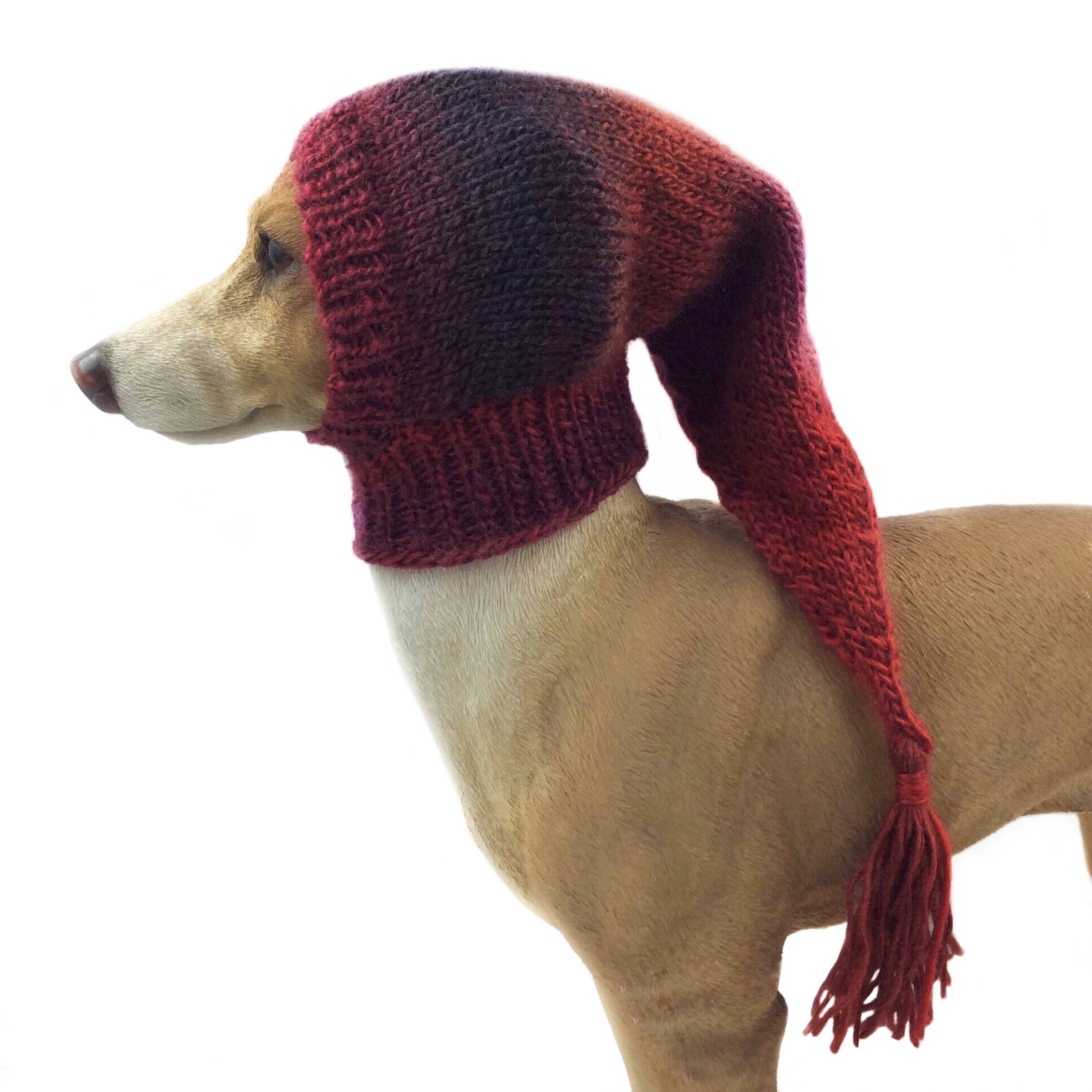 Greyhound knitted hat pattern yaasfo for reds small whippet snood dog hat italian greyhound greyhound knitted hat pattern bankloansurffo Images