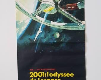 1968 2001:Odyssey Original Movie Poster French Movie Poster