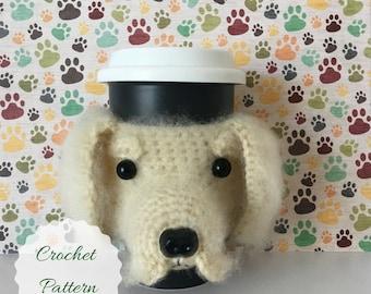 Dog Amigurumi - Amigurumi Dog - Crochet Pattern Dog - Dog Crochet Pattern - Crochet Dog Pattern - Crocheting Patterns - Mug Cozy Pattern
