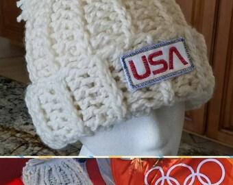 Chloe Kim inspired Olympic Beanie