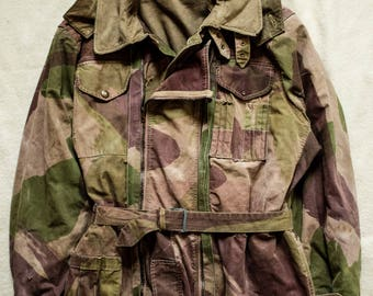 WW2 British Tank Suit Denison Brushstroke Camo Camouflage Pixie Frogskin Coveralls Overalls Buzz Rickson RRL Nigel Cabourn ventile smock