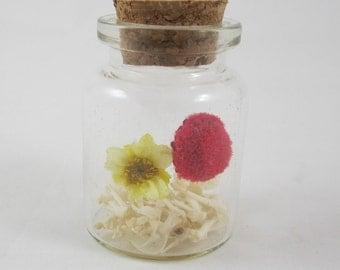 Jar of Bones and Flowers