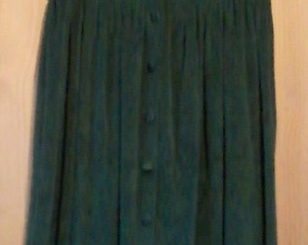 Vintage Long Velour Dress