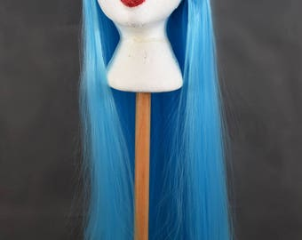 Long Blue Wig | Straight Blue Wig | Baby Blue Wig | Pastel wig | Light Blue Wig | Long Wig with high quality synthetic hair