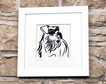 Custom Pet Portrait, Dog Portrait, Pet Art, Pet Drawing, Dog Illustration, pet portrait custom, pet lover gift, pet memorial, pet gift