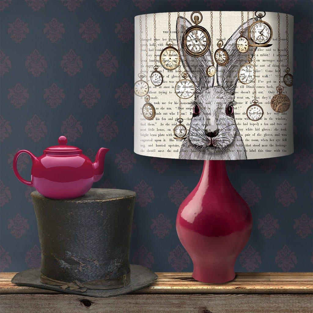 Alice In Wonderland Decor Alice Lampshade Alice Lamp Shade