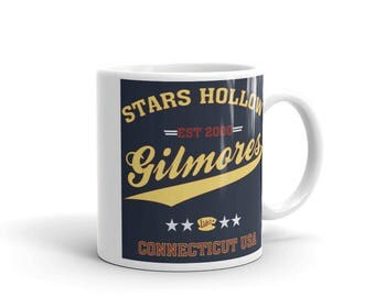 Gilmore Girls/ gilmore girls mug /gilmore girls tv show/stars hollow mug /coffee mug /book lovers mug /Lukes dinner / Mug