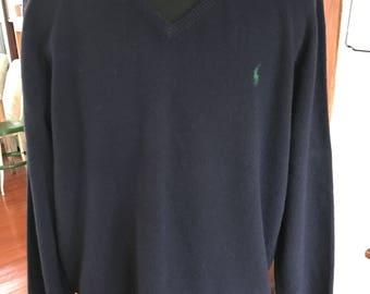 Polo Ralph Lauren Wool V Neck Sweater