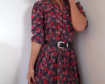 Vintage Floral Laura Ashley Dress
