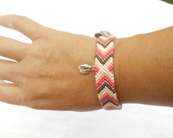 Bracelet friendship Chevron