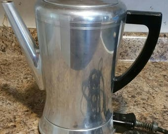 1950's Vintage Flavo-Matic Electric Coffee Percolator