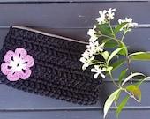 Pochette, little crochet bag, little boho bag